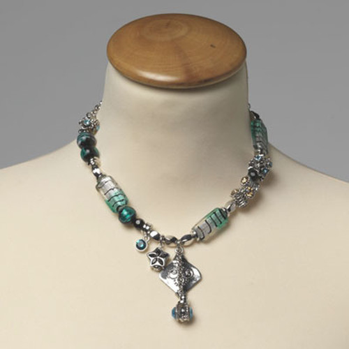 Ketting turquoise (1)